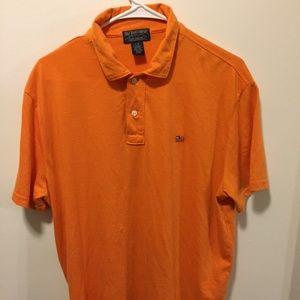 Ralph Lauren Polo Jeans  Mens Shirt Large Orange